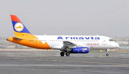 First Armavia Superjet