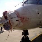 ASA 5087 CRJ Bird Strike Damage