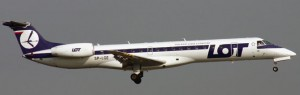 LOT Polish Airlines ERJ-145
