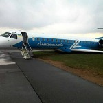 Dniproavia ERJ-145 UR-DNK Incident Damage