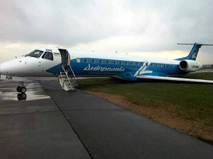 Dniproavia ERJ-145 UR-DNK Incident Damage