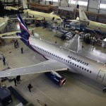First Aeroflot Superjet RA-89001