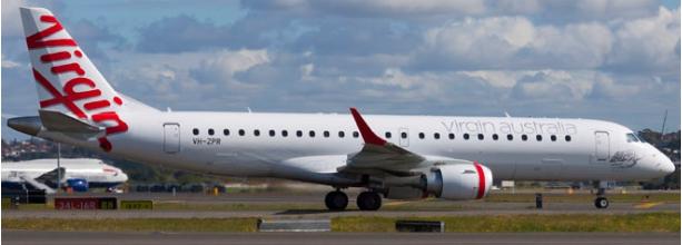 Virgin Australia Embraer E-190 VH-ZPR