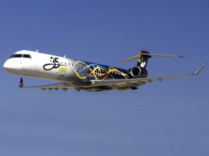 SkyWest Airlines 35th Anniversary CRJ