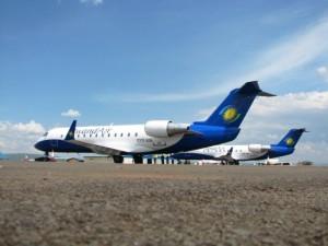 Rwandair CRJ200s
