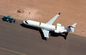 N865AS Destroyed - Photo Credit: The Spectrum/ Jud Burkett / AP