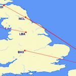 British European CRJ Routes