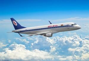 Belavia Embraer 175 Artist's Conception Art