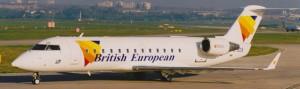 British European CRJ-200ER MSN 7393 G-JECB (Photo by: Steve White)