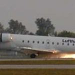 Canadair Regional Jet RJ100LR MSN 7005 D-ACLB in service with Lufthansa Cityline Accident Scene at MUC September 14, 2002 (Photo By: Werner Früchtl / Source: PlanePictures.Net)