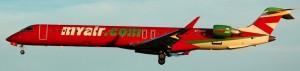 MyAir CRJ-900 MSN 15110 EI-DUX