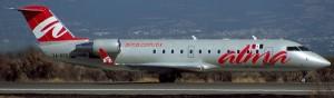 Canadair Regional Jet RJ200ER MSN 7470 XA-UGU In Service with ALMA de México (Photo By: Augusto Gomez Rojas)