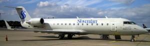 Canadair Regional Jet RJ200LR MSN 7329 OE-LSD in service with Styrian Spirit Slovenian Spirit Titles (Mr. CRJ Collection)