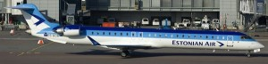 Canadair Regional Jet CRJ-900 NextGen MSN 15261 ES-ACB in service with Estonian Air (Photo By: Ole Simon)