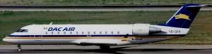 Dac Air CRJ-200LR MSN 7137 YR-GPA In Full Dac Air Colours (Photo By: Donato Bolelli)